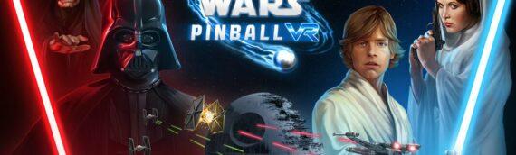 """Zen Studios : Le jeu de flipper """"Star wars Pinball"""" disponible en réalité virtuelle pour la fin Avril"""