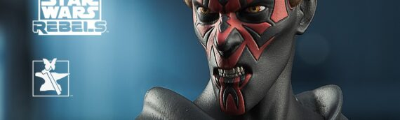 Gentle Giant: Mini-Buste SW Rebels Darth Maul Animated