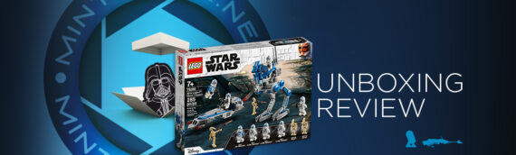 [Mintinbox Open the Box] LEGO Star Wars 75280 Les Soldats Clones de la 501ème légion