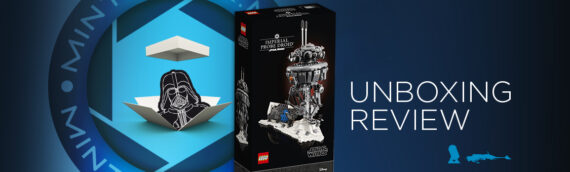 [Mintinbox Open the Box] LEGO Star Wars 75306 Imperial Probe Droid
