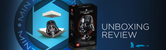 [Mintinbox Open the Box] LEGO Star Wars 75304 Darth Vader Helmet