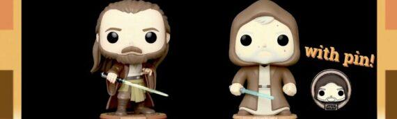 FUNKO POP – Qui-Gon Jinn et Obi-Wan Kenobi en exclu chez Amazon