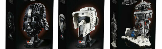 LEGO Star Wars – Les visuels officiels des sets  75304 Darth Vader, 75305 Scout Trooper et 75306 Imperial Probe Droid