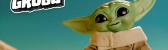 """Hasbro : Une nouvelle peluche Animatronic """"Star Wars Galactic Snackin' Grogu"""""""