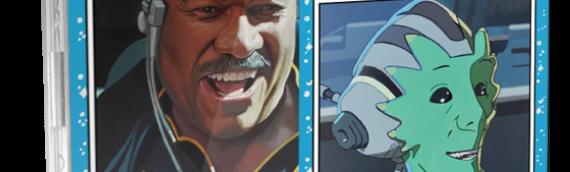 Topps SW Living Set : Lando et Neeku Vozo par Kris Penix
