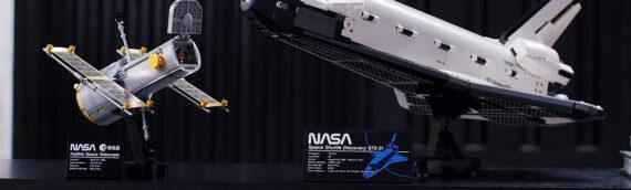LEGO –  Le set 10283 NASA Space Shuttle Discovery est disponible sur le SHOP en ligne