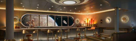 """Disney Cruise Line – Le """"Disney Wish"""" dévoile son espace Star Wars"""