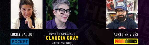 """Générations Star Wars """"Chez Vous"""" – La haute république à l'honneur chez Pocket et Panini et la présence de l'autrice Claudia Gray"""