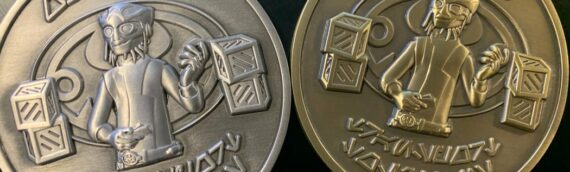 """Ryloth Relics – """"Ohnaka Transport Solutions"""" Coins Silver & Gold"""