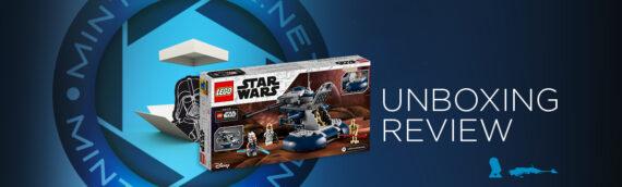 [Mintinbox Open the Box] LEGO Star Wars 75283 Char d'assaut blindé (AAT)