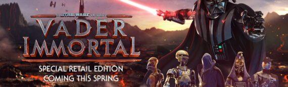 ILMxLab & Perpgames: Une édition spéciale du jeu Vader Immortal sur Playstation