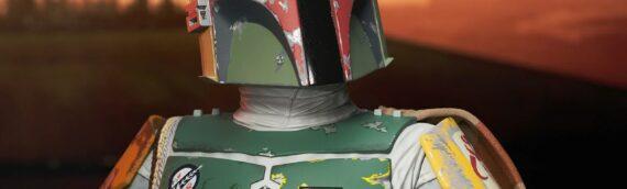 Gentle Giant – Le buste de Boba Fett Legend in 3D est disponible en précommande