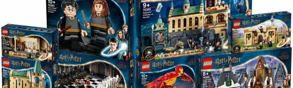 LEGO – On fait le plein de nouveaux sets LEGO Harry Potter