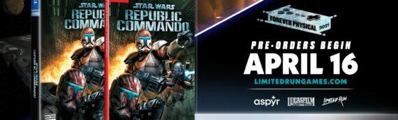 "Limited Run Games : Edition exclusive ""Republic Commando"""