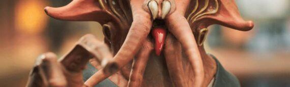 """Gentle Giant : 1er visuel du buste """"PGM"""" de Tessek"""