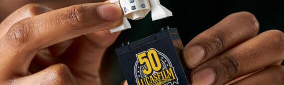 LEGO Star Wars – Une brique spéciale pour le 50eme anniversaire de Lucasfilm