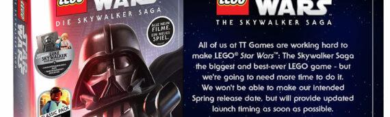 """""""LEGO Star Wars The Skywalker Saga"""" est de nouveau repoussé"""