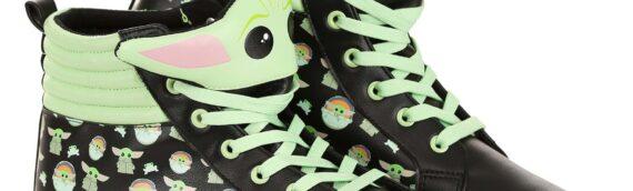 FUN : Une paire de basket aux couleurs de Grogu