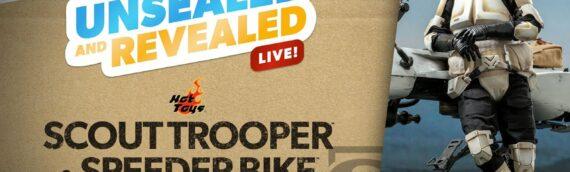 Sideshow : Unboxing du Scout Trooper & Speeder bike d'Hot Toys