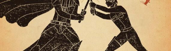 The Odyssey of Star Wars : An Epic Poem par Jack Mitchell