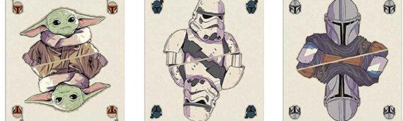 "Waddingtons : Un set de jeu de cartes ""The Mandalorian"""