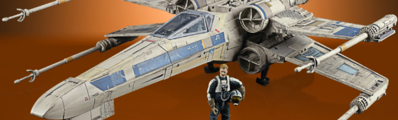 "HASBRO – Rogue One X-Wing StarFighter ""Antoc Merrick's' The Vintage Collection"