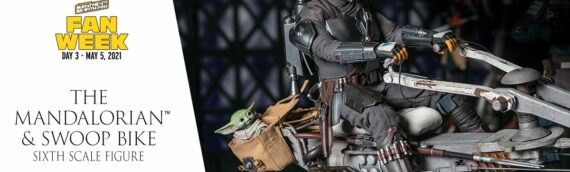 HOT TOYS – The Mandalorian and Swoop Bike Sixth Scale Figure