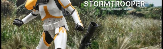 Hot Toys – The Mandalorian : l' Artillery Stormtrooper fait son arrivée