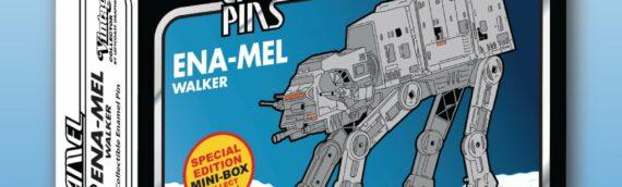 Leftcoast Graphics : L'ATAT et le Snowtrooper font leur arrivée en pin's