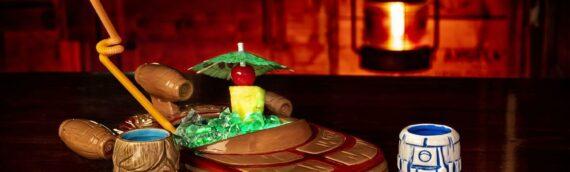 Geeki Tikis – Star Wars Landspeeder Punch Bowl avec Luke & R2-D2 Mini Mug