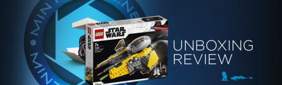 [Mintinbox Open the Box] LEGO Star Wars 75281 L'intercepteur Jedi d'Anakin
