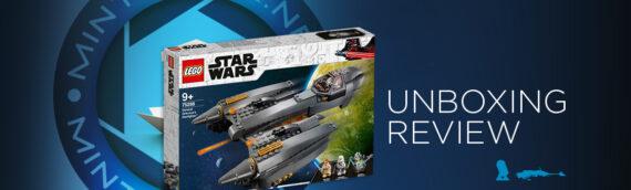 [Mintinbox Open the Box] LEGO Star Wars 75286 Le chasseur stellaire du Général Grievous