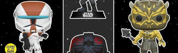 FUNKO POP – Une deuxième série de figurine inspirée des jeux vidéos Star Wars