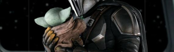 Iron Studios : Une nouvelle statuette de Mando et Grogu