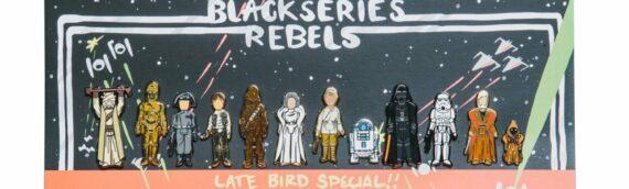 "BLACK SERIES REBELS – Les pins ""Late Bird Special"""