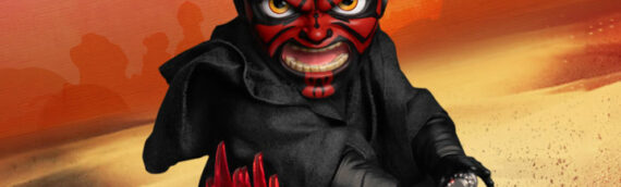Beast Kingdom : Darth Maul rejoint la collection des figurines Egg attack
