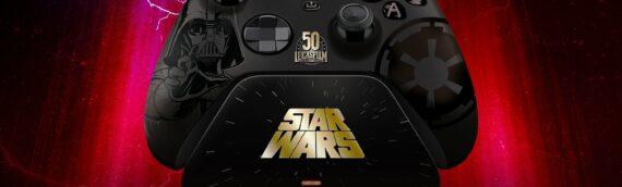 Manette Razer Xbox Vader Edition Limitée Lucasfilm 50th