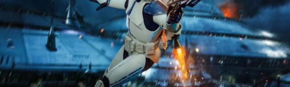 Hot Toys : Les photos de production du Clone Trooper 501st Battalion