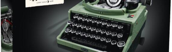 LEGO IDEAS – 21327 La machine a écrire