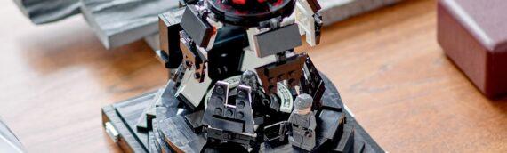 LEGO STAR WARS – 75296 La salle de méditation de Dark Vador disponible en ligne