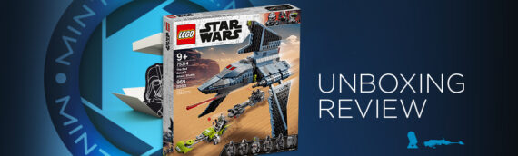 [Mintinbox Open the Box] LEGO Star Wars 75314 The Bad Batch Attack Shuttle