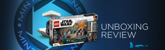 "[Mintinbox Open the Box] LEGO Star Wars ""75310 – Duel sur Mandalore"""