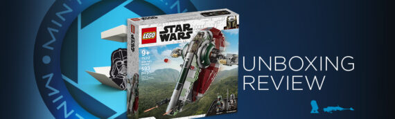 "[Mintinbox Open the Box] LEGO Star Wars ""75312 – Boba Fett Starship"""