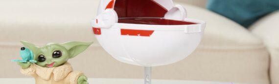 Hasbro – The Bounty Collection : Grogu avec son landau et d'autres accessoires