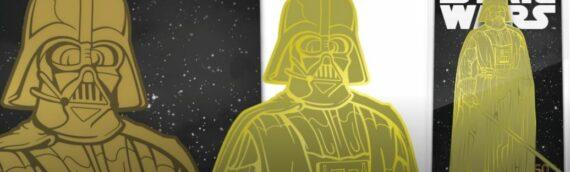 FiGPiN: Le pins de Darth Vader GOLD (#500)