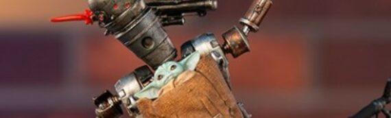 Iron studios : Le droïde IG-11 en pleine action
