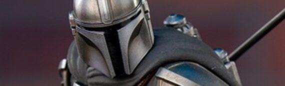 Iron studios : 1er visuel de la future statuette 1/10 de Mando