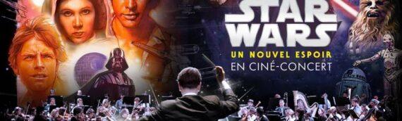 Un nouvel espoir en ciné-concert à Nantes et Bordeaux au mois de Novembre