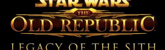 """Bioware : Une nouvelle extension pour le jeu """"The Old republic"""""""