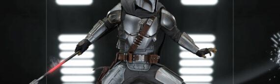 Iron Studios : … et de Mando dans leur duel